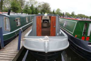 Duratherm spray foam Boat-Outside