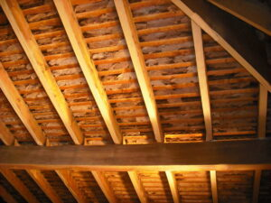 Roof Before Spray Foam Insulation